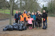 Spring Litter Clear in Alexandra Park