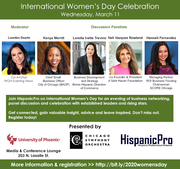 2020 International Women's Day Celebration
