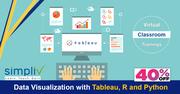 Data Visualization with Tableau, R and Python course