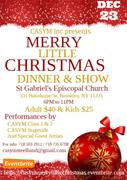 CASYM Inc. Presents Merry Little Christmas Dinner & Show
