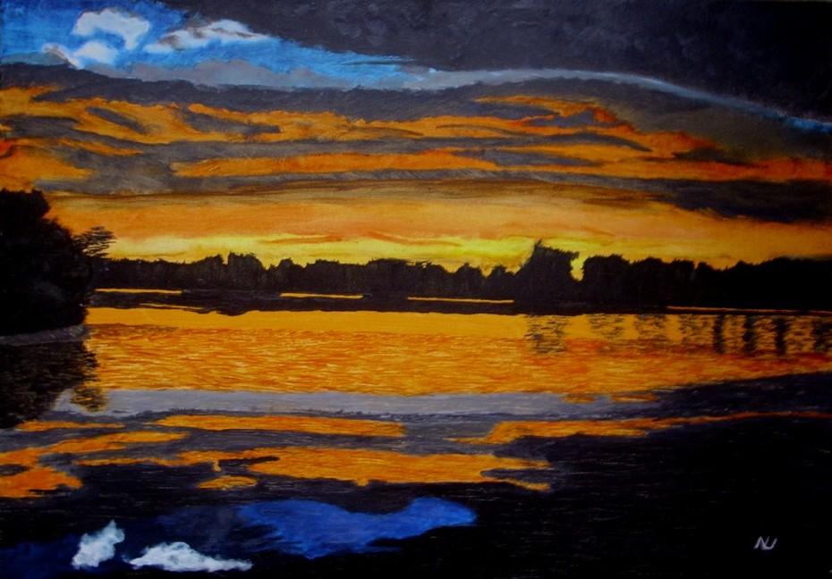 Sonnenuntergang Salem