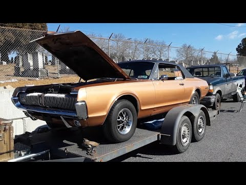 Checking Out A 1967 Mercury Cougar XR7 For Sale At the 2020 Hamburg Swap Meet  1