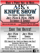 AIK's 4th Annual Knife Show in Washington, MO
