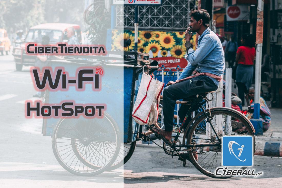 HotSpot Internet Ciberall Sistema Fichas