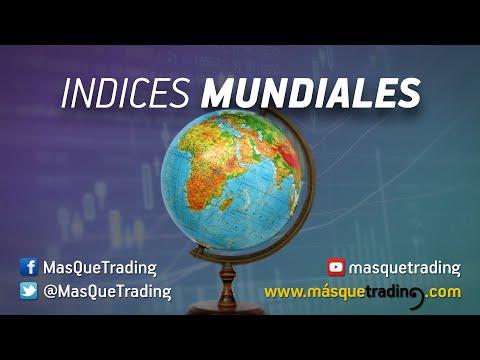 Vídeo análisis de los principales índices mundiales, excepto EE.UU.