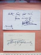 Unknown Autographs