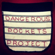 Dangerous Women's Pockets, Embroidery Workshop, Tuesday 10th March, 1-4pm