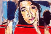 HANNAH (180cm x 120cm) 2006