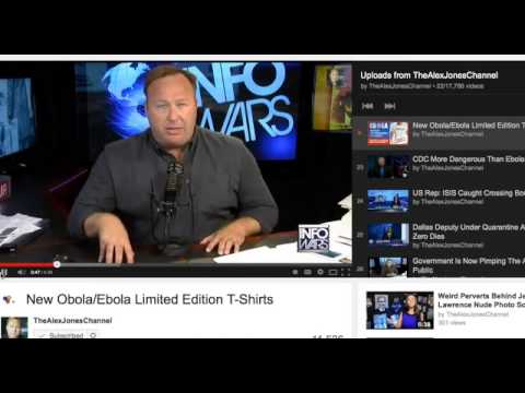 Alex Jones Pushed Ebola Fearmonger Propaganda