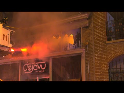 2nd Alarm: Dejavu Night Club Fire in Allentown, Pennsylvania (basement Fire)