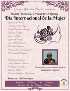 recital homenaje día internacional de la mujer