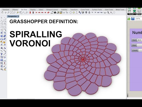 Free Grasshopper Definition: Spiralling Voronoi