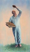 The Keeper (for Ambrose) | Oil on linen | 37 x 66 in | 2018
