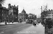 Wood Green High Road, c1920