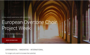European Overtone Choir - project week 2020
