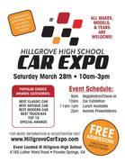 HILLGROVE HIGH SCHOOL CAR EXPO