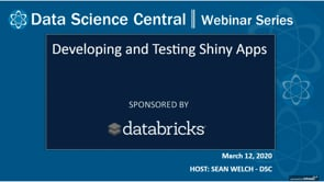 DSC Webinar Series: Developing and Testing Shiny Apps