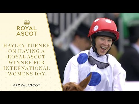 Hayley Turner On Having A Royal Ascot Winner For #InternationalWomensDay
