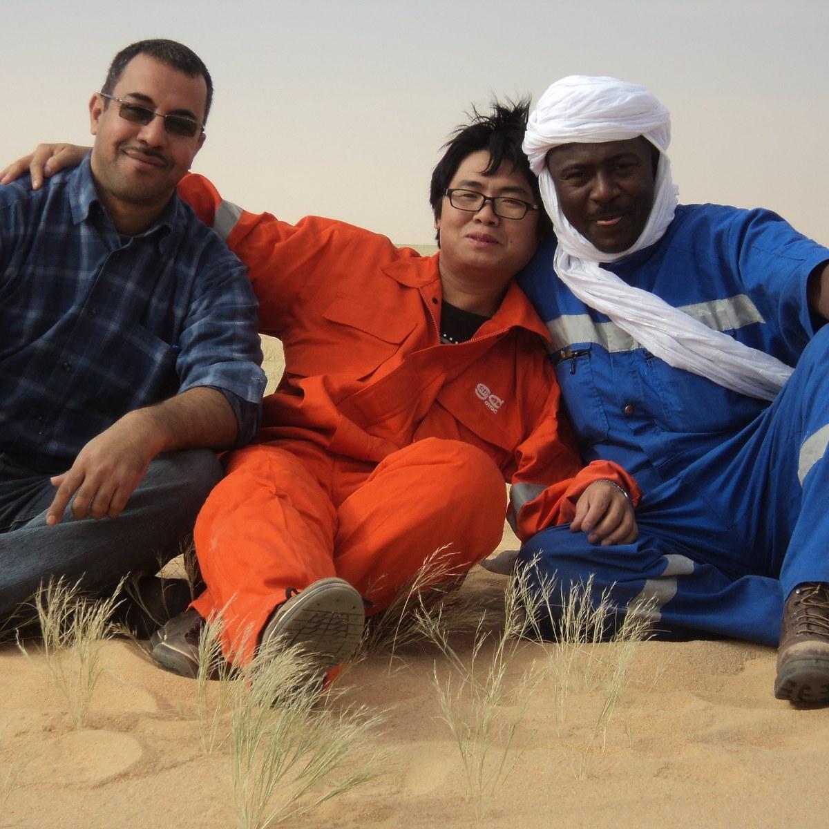 Great team @ the desert of NIGER