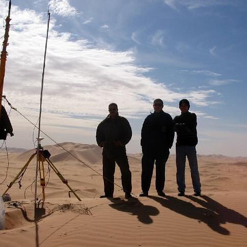 RTK Base Station and 3 Surveyors