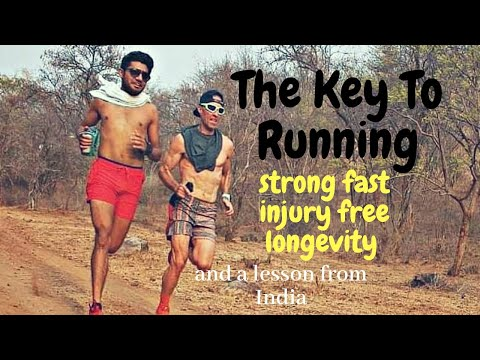 The Key To Running: Strong, Fast, Injury Free, Longevity