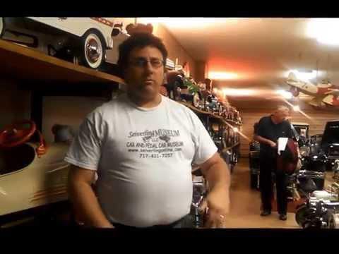 Seiverling Museum Pedal Car Museum Curator,  Darren Interview