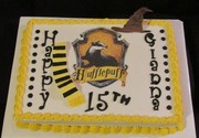 Harry Potter Hufflepuff Cake