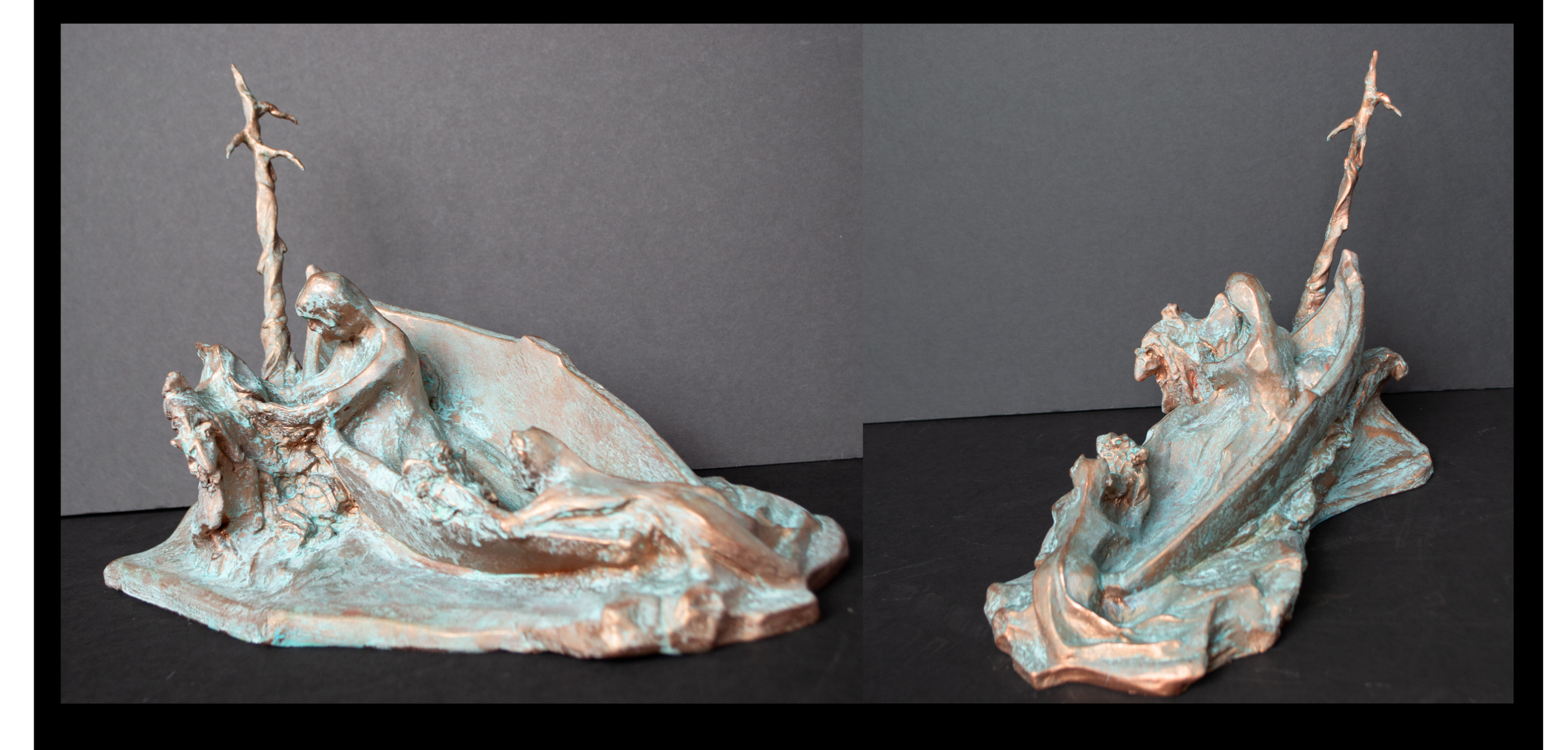 """Creation"", Slavic Myth, Epoxy clay"
