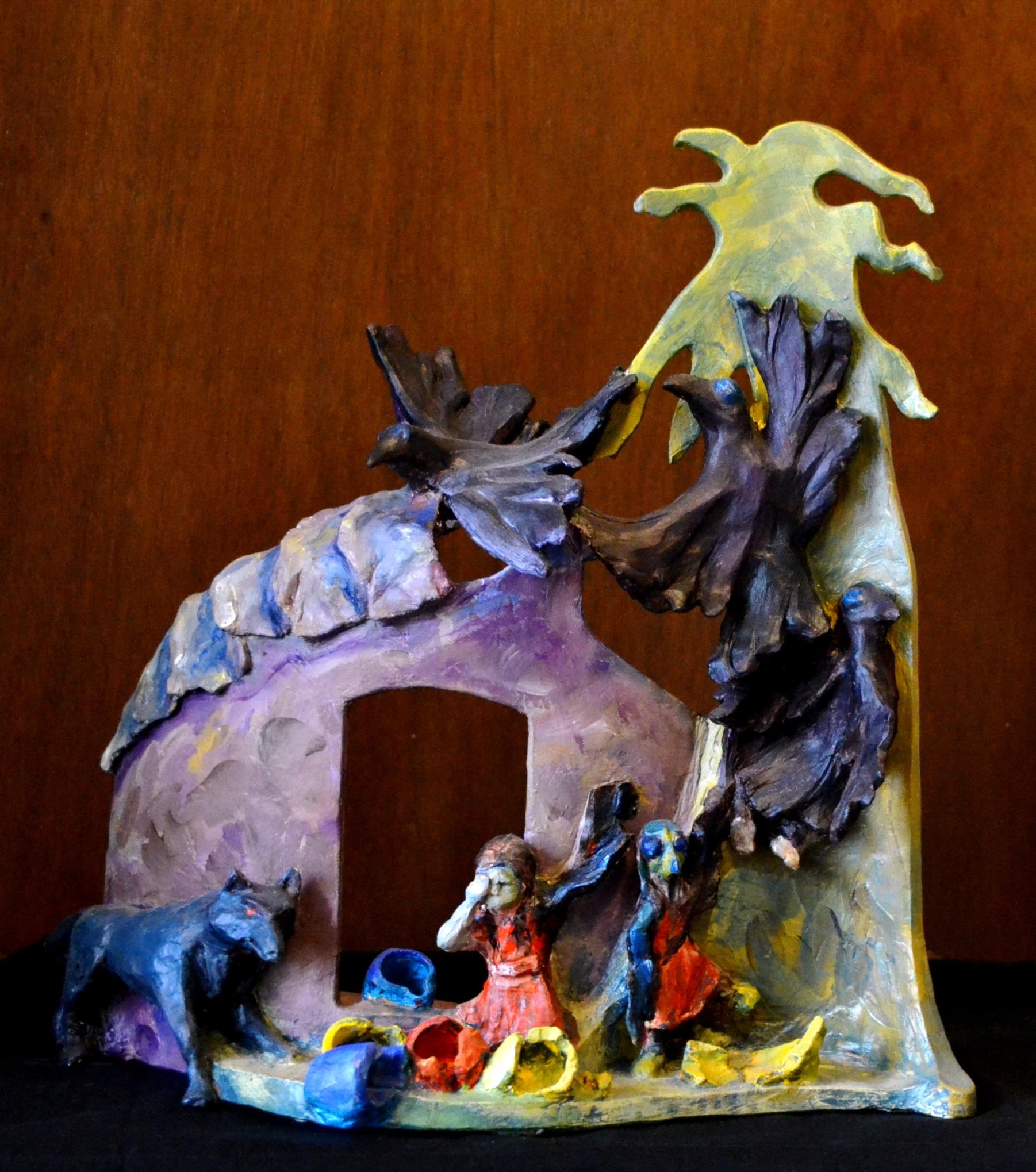 """""""Magic Pots"""", Native American Lore, Stoneware"""