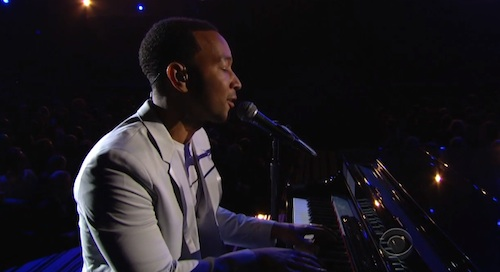Watch: John Legend Performs All Of Me @ The 2014 Grammys