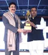 Sandeep Marwah Honored at Noida Film City
