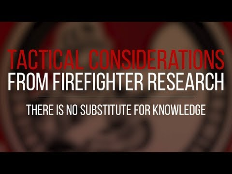 Tactical Consideration: There is No Substitute For Knowledge