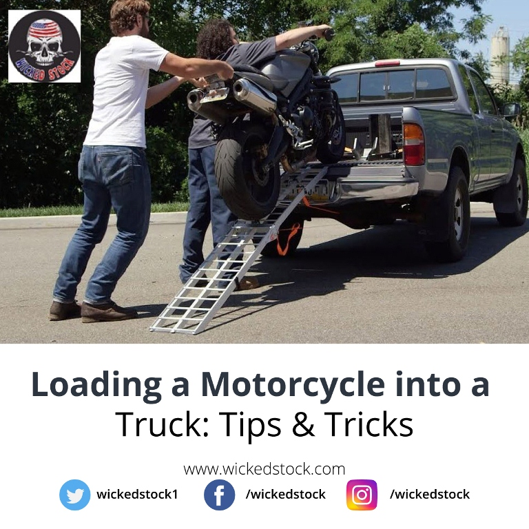 Loading a Motorcycle into a Truck: Tips & Tricks