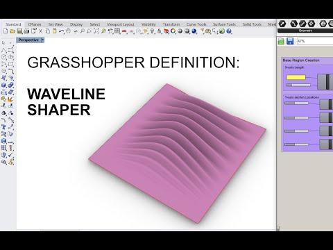 Free Grasshopper Definition: Waveline Shaper