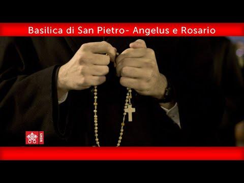 Basilica di San Pietro - Angelus e Rosario 2020.03.19
