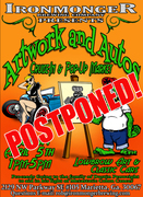 POSTPONED! Artwork and Autos Cruise-In and Pop-up Market