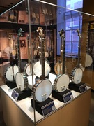 American Banjo Museum classic banjo section