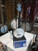 Samuel Swaim Stewart banjo at the American Banjo Museum