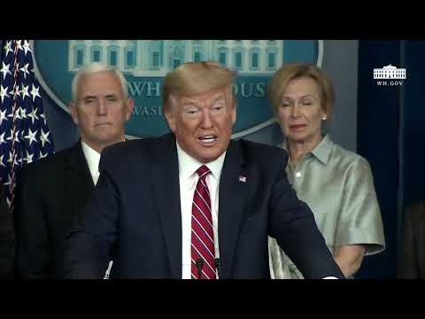 Press Conference: Donald Trump Joins the Daily Coronavirus Pandemic Briefing - March 20, 2020