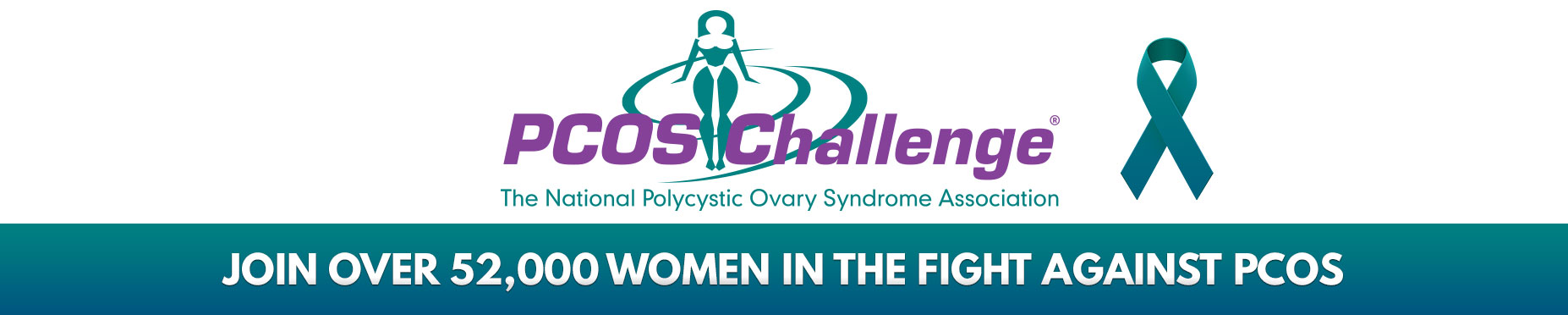 PCOS Challenge: The National PCOS Association Logo