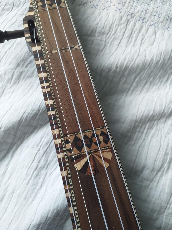 Tunbridgeware inspired banjo