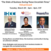 """""""The State of Business During   These Uncertain Times"""" Virtual Event"""