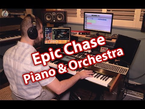 Epic Chase - Piano and Orchestra
