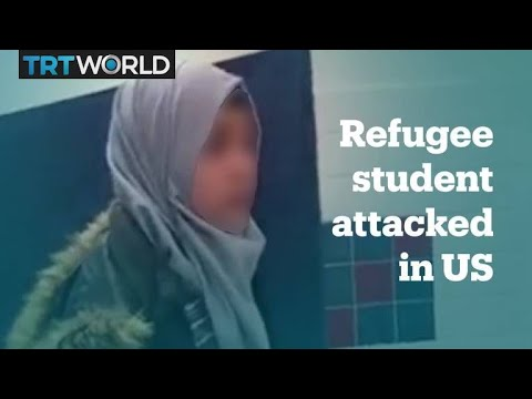 Syrian refugee student attacked in a US school