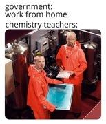 Part-time work for chemistry teachers during the shutdown