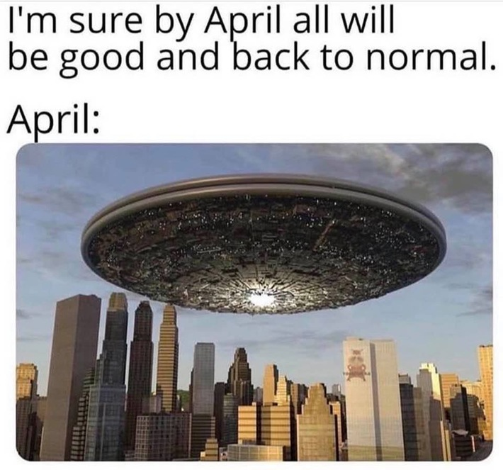 I'm not saying Aliens, but it's probably Aliens next. LOL