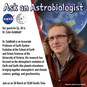 Ask an Astrobiologist with Dr. Colin Goldblatt