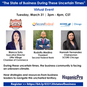 """The State of Business During These Uncertain Times"" Virtual Event"