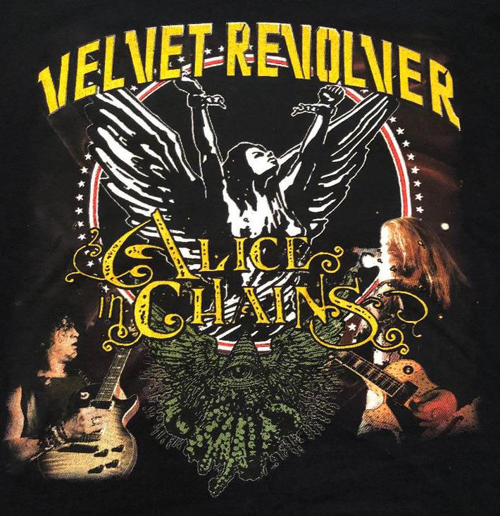 Railbender at Velvet Revolver and Alice in Chains concert. Darien Lake, Ny. 8-16-2007