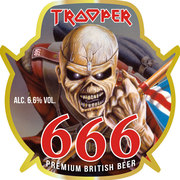 Trooper 666 is a English Extra Special / Strong Bitter (ESB) style beer brewed by Robinsons Family Brewers.
